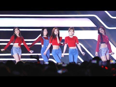 170930 레드벨벳(Red Velvet) - 빨간 맛 (Red Flavor) [피버페스티벌] 4K 직캠 by 비몽