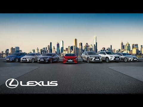 Lexus självladdande premiumelhybrider