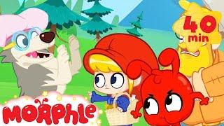 Little Red Riding Hood Mila - My Magic Pet Morphle | Cartoons For Kids | Morphle TV | Mila & Morphle