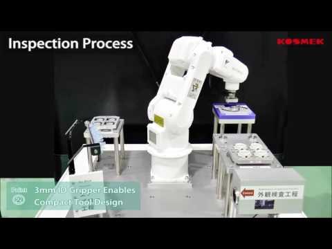 Automation Inspection Process with Yaskawa