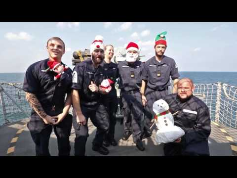 Merry Christmas everyone from HMS Ocean