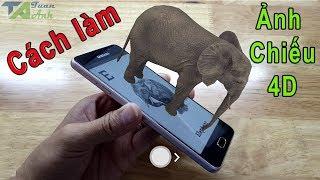 Cách dùng ứng dụng Animal 4D để xem ảnh thực tế ảo cực hay