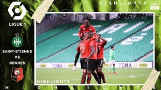 Saint-Etienne 0 - 3  Rennes - HIGHLIGHTS & GOALS - (9/26/2020)