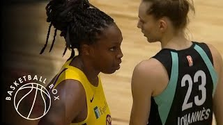 [WNBA] Los Angeles Sparks vs New York Liberty, Full Game Highlights, July 20, 2019