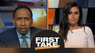 Stephen A. Smith goes off to Molly Qerim about Tiger Woods | First Take | ESPN