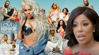 Lyrica Anderson BLASTS K.Michelle and EXPOSES Love and Hip Hop for being FAKE!