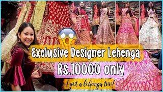 LEHENGA SHOPPING IN CHANDNI CHOWK   Cheap to Expensive Designer Lehengas! Bridal/NonBridal