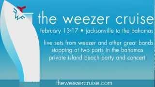 the weezer cruise 2014