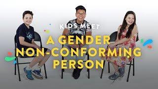 Kids Meet a Gender Non-Conforming Person | Kids Meet | HiHo Kids