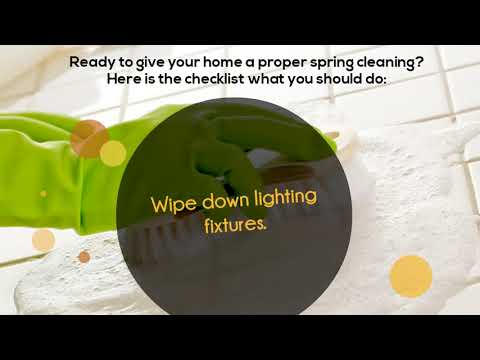 Ways to keep your Home clean in Spring