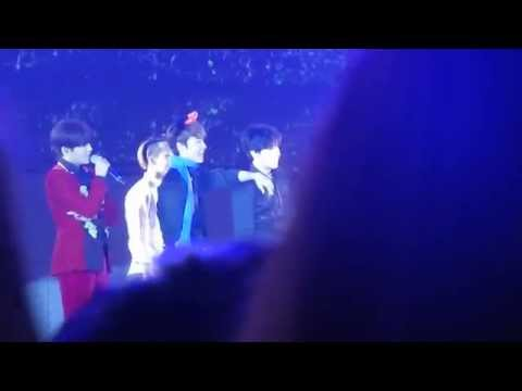 SS6  Donghae & Heechul imitation by Dancer   Taipei  141130  EL