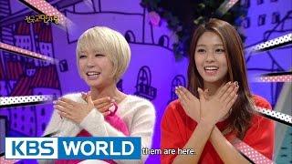 Hello Counselor - Hong Rokgi, Jung Kaeun, Choa(AOA) & Seolhyun(AOA)! (2014.12.08)