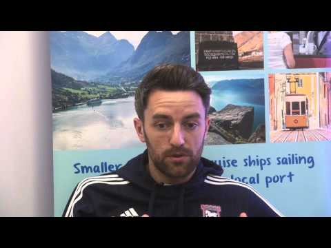 Fred. Olsen Cruise Lines welcomes ITFC's Cole Skuse