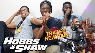 Hobbs & Shaw Trailer 1 Reaction
