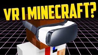 VR i MINECRAFT? (tydligen inte) | The Tester - #1