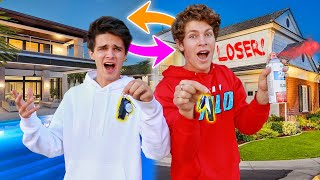 SWITCHING HOUSES WITH BRENT RIVERA! (bad idea)
