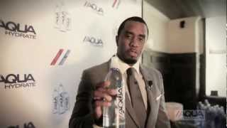 Diddy & Mark Wahlberg Launch AQUAhydrate