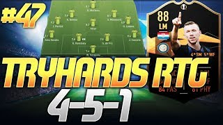 BEST POSSESSION FORMATION AFTER PATCH (4-5-1)- TRYHARDS RTG #47 - FIFA 19 ULTIMATE TEAM
