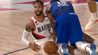 CLIPPERS vs BLAZERS - 1st Half Highlights | NBA Restart