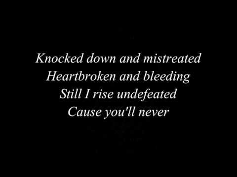 Christina Aguilera - Best Of Me (LYRICS)