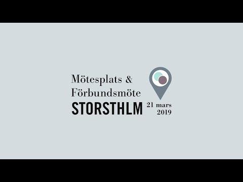 Storsthlm – Mötesplats och Förbundsmöte 2019