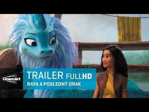 Raya a Drak - trailer na animák