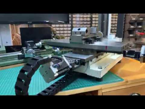 view DIY CNC Mill update with new limit switch interface