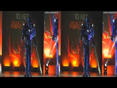 (3D) Cosplay Mecha Pacific rim (AVA Expo 2016) by naturalist3d