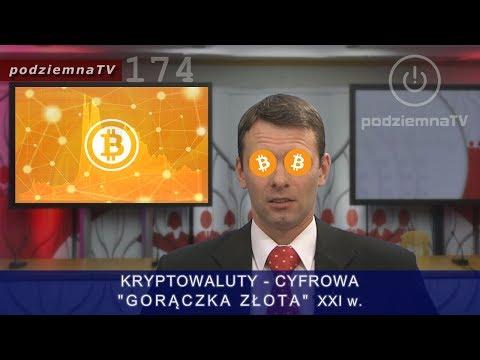 """Robią nas w konia: BitCoin fenomen KRYPTOWALUT cyfrowa """"gorączka złota"""" XXIw #174"""