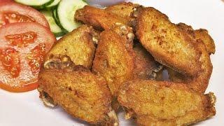 ปีกไก่ทอดน้ำปลา Fried chicken wings with fish sauce | RK Thai Kitchen