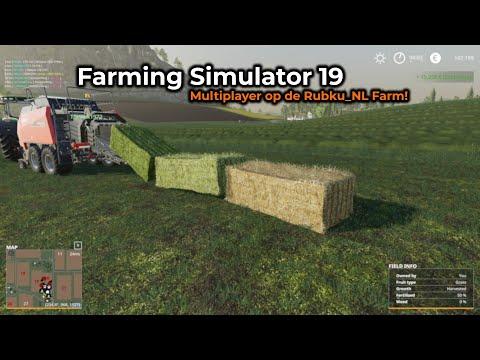 Farming Simulator 19 -- Opname 11/06/2019