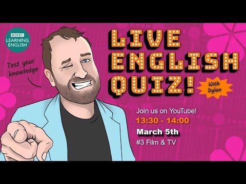 Live English Quiz #3 - Film & TV