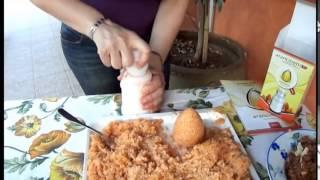 How to make arancini  - ARANCINOTTO SLIM