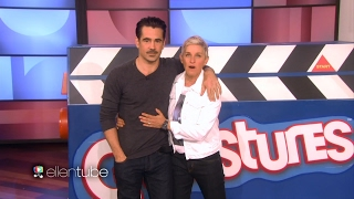 【中文字幕版】Colin Farrell and Ellen Play Guesstures