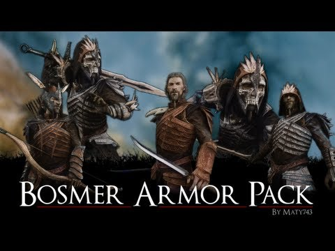 Skyrim Mods: Tera Armor Collection, Axestaff Weapons, CHSBHC Body