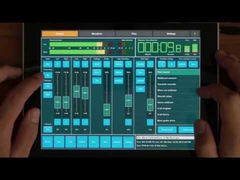 Master Record for iPad demo