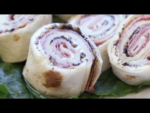 Appetizer Recipes - How to Make Muffaletta Pinwheels