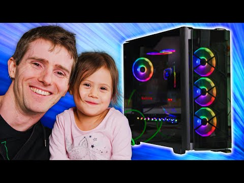 Building a BEAST Gaming Rig with my 3 Year Old....