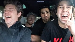 BEST FRIEND CAR RIDE WITH THE VLOG SQUAD