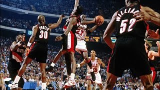 1992 NBA Finals - Gm 6 - Chicago Bulls vs Portland Trail Blazers