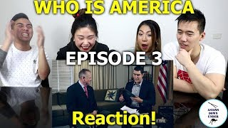 Who Is America? Episode 3 ft. Roy Moore | Reaction - Australian Asians