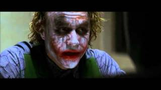 prison scene batman vs. joker The Dark Knight HQ