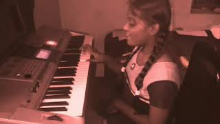 Twinkle Twinkle Little Star song play in keyboard by c . Abarna