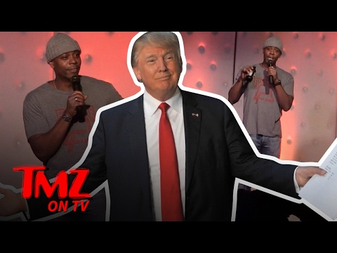Trump Supporter Gives Dave Chapelle Some Material To Work With | TMZ TV
