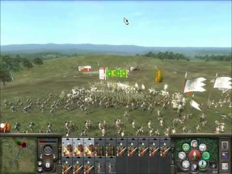 Medieval 2 Total War Online Battle #73: Four Player Free-For-All