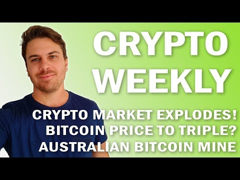 Crypto Weekly | Markets EXPLODE! But is this a BULL trap? Open Platform and Australian Bitcoin Mine!