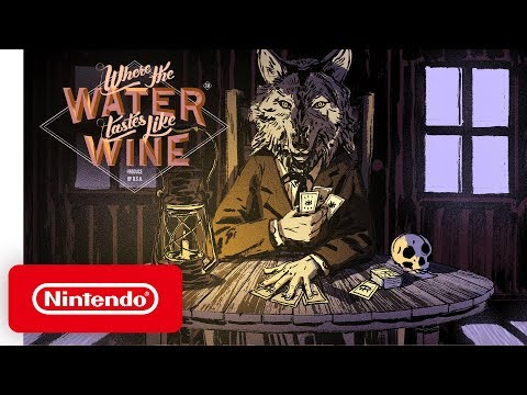 Where the Water Tastes Like Wine - Launch Trailer - Nintendo Switch