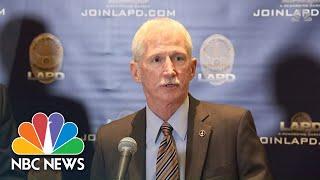 LAPD Details Assault On Three Homeless Men With Baseball Bat   NBC News