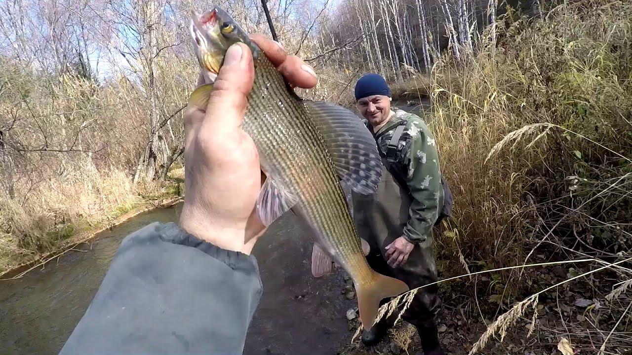 Рыбалка в глухой сибирской тайге