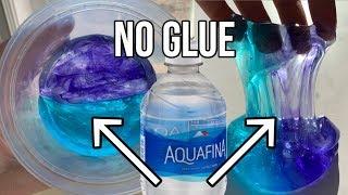 1 INGREDIENT SLIME! 💧Testing NO GLUE Water Slimes! DIY NO GLUE Slime
